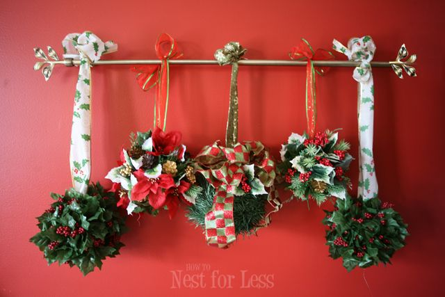 Mistletoe Ball Decoration Endearing Oversized Mistletoe Balls Of Styrofoam™ Brand Foam  Mistletoe Decorating Design