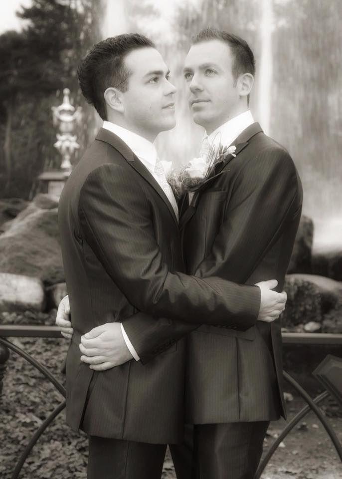 Deze leuke trouwfoto is van Peter