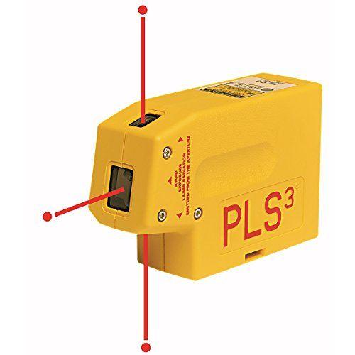 Pls Laser Pls60523 Pls3 Laser Level Tool Yellow Click Image To Review More Details This Is Amazon Affiliate Link Homeimp Laser Levels Laser Pointers Laser