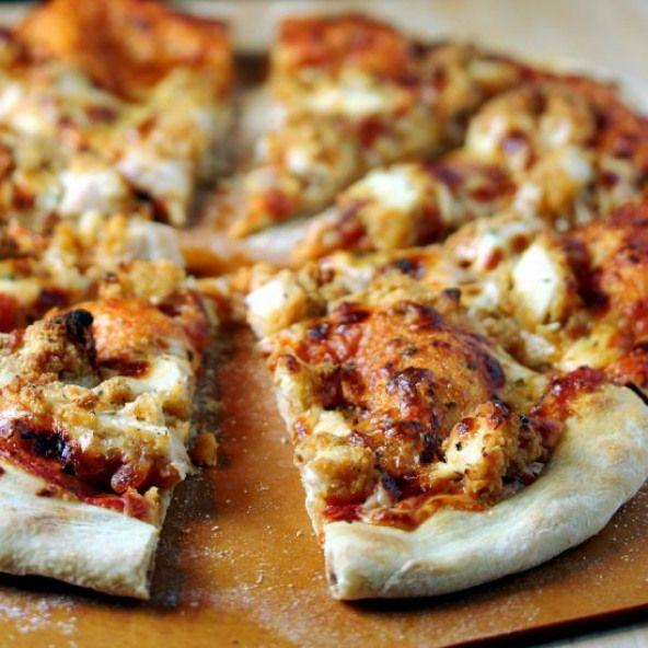 Crispy Chicken Parm Pizza Pizza And Flatbread Pinterest Pizza