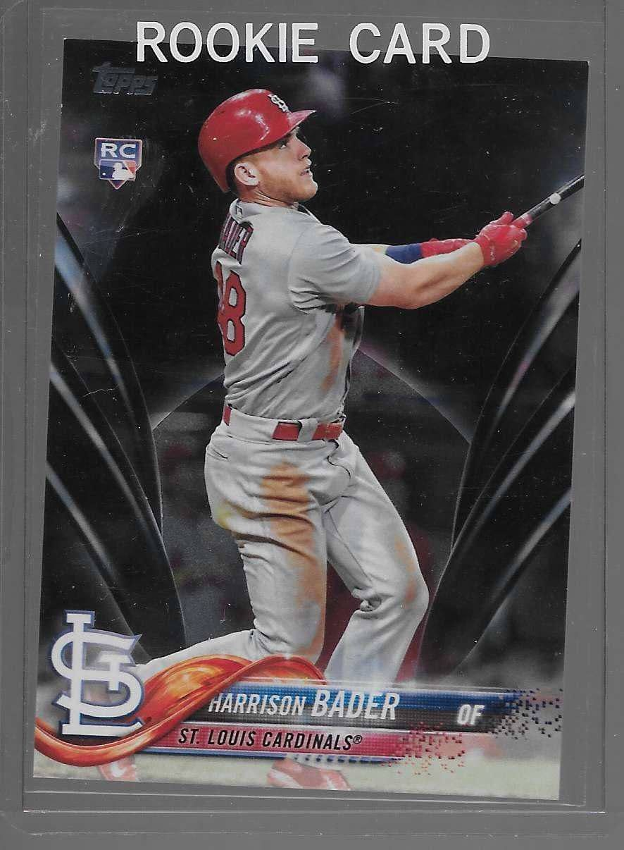 482a967c5 2018 Topps Harrison Bader rare black parallel card #24/67 RC rookie  CARDINALS please retweet