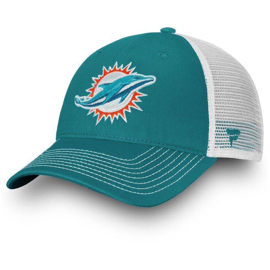 caaf992b Youth Miami Dolphins NFL Pro Line by Fanatics Branded Aqua Core ...