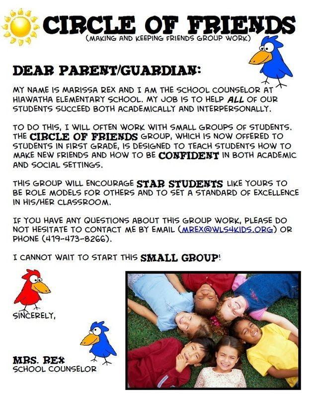 Group Counseling Parent Permission Slip School Counseling Ideas