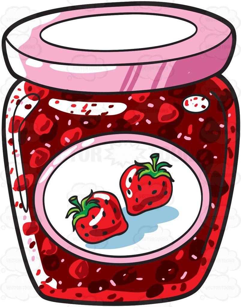 a jar of strawberry jam alphabet strawberry jam jar