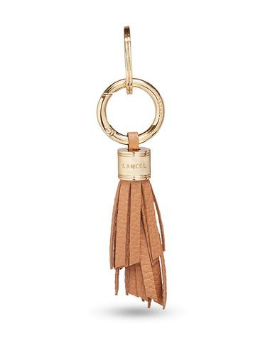 LANCEL Women s Key ring Camel -- --  7a3347da72