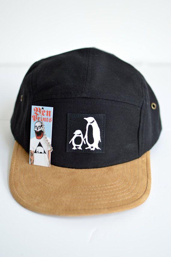 1b64fcad38857 Penguin Five Panel Hat