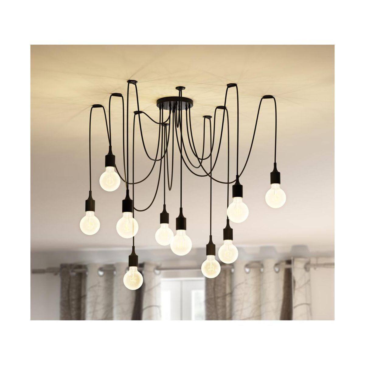 Lampa Wiszaca Soleto 10 X 60 W Light Prestige Lampy Wiszace W Atrakcyjnej Cenie W Sklepach Leroy Merlin Lamp Light Chandelier Interior Styling