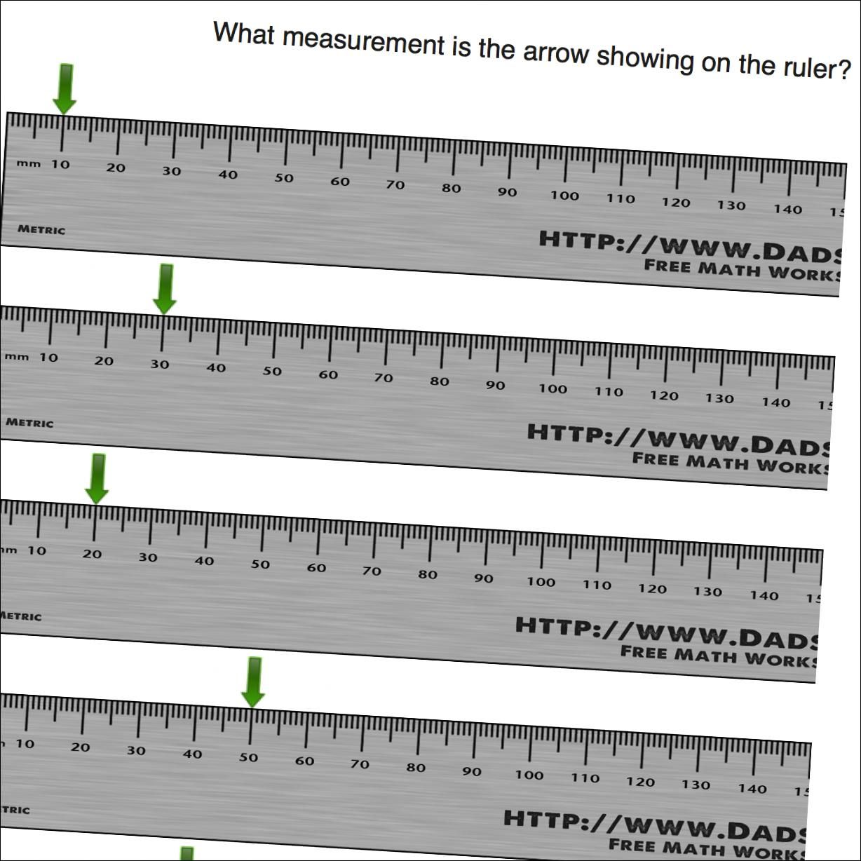 Math Worksheets Millimeters On Ruler Math Worksheets Math Measurement Math Work [ 1228 x 1228 Pixel ]