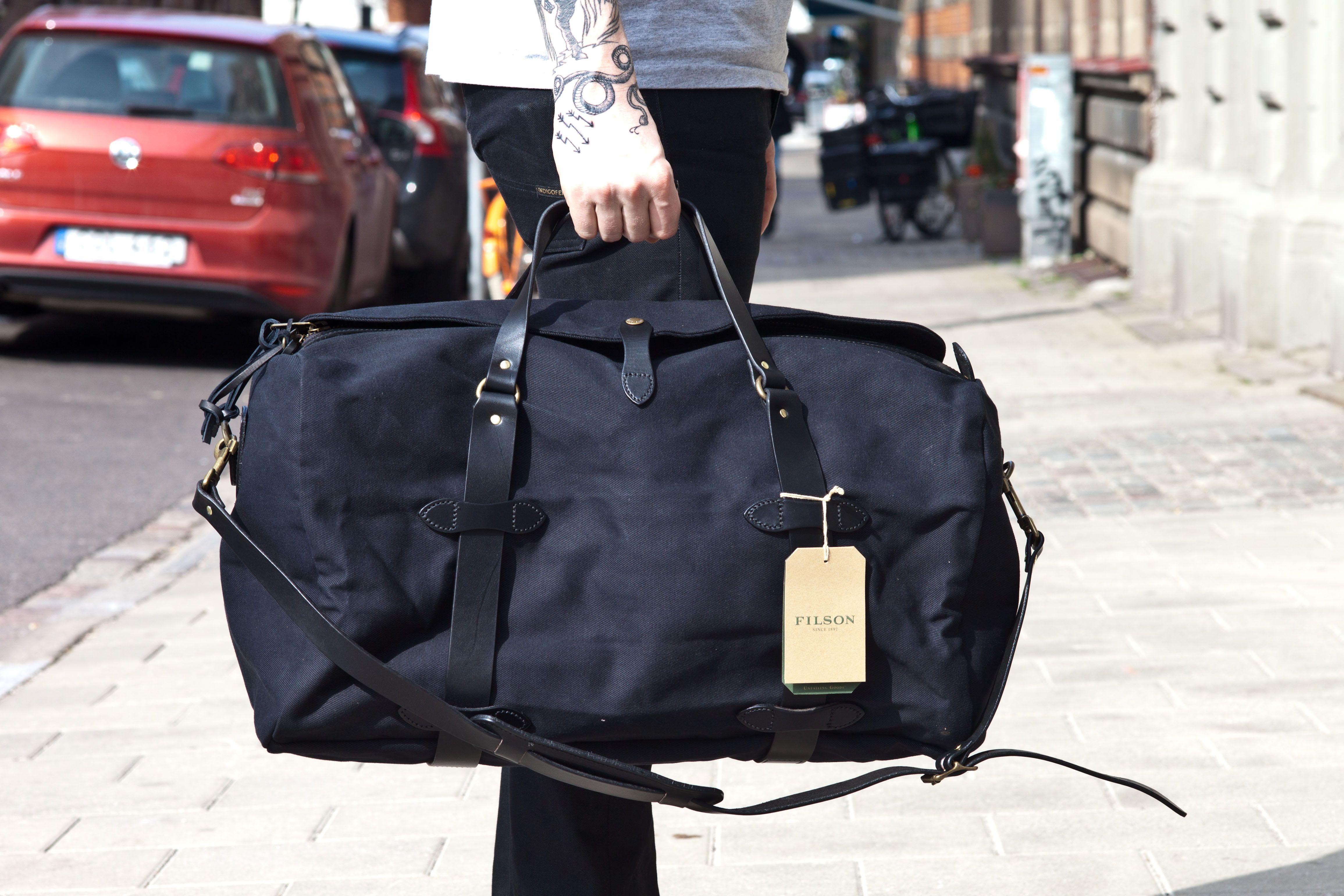 816cbcf0c4ae7e Image result for filson medium duffle | my style | Bags, Black, Medium