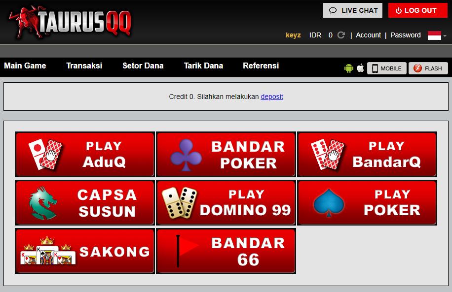 Pin Di Taurusqq Link Poker Online Situs Judi Online