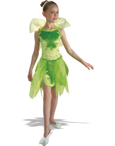 Green Fairy Tink Child Costume