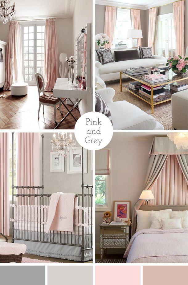 Pink And Grey Grey Interior Design Home Bedroom Grey Decor