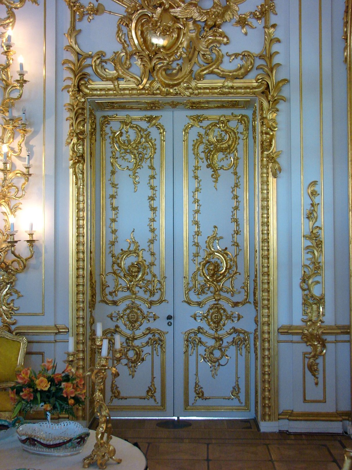 Russie Le Palais Catherine 1 If It S Baroque Don T