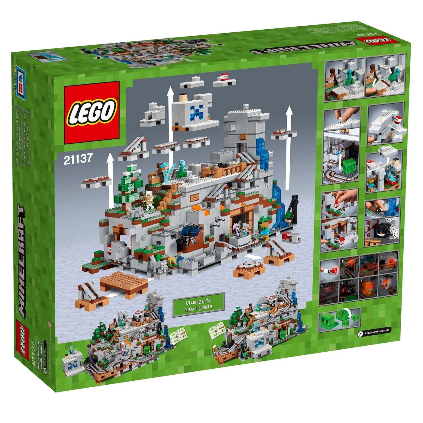 "LEGO Minecraftâ""?8The Mountain Cave 8 #Minecraft, #LEGO"