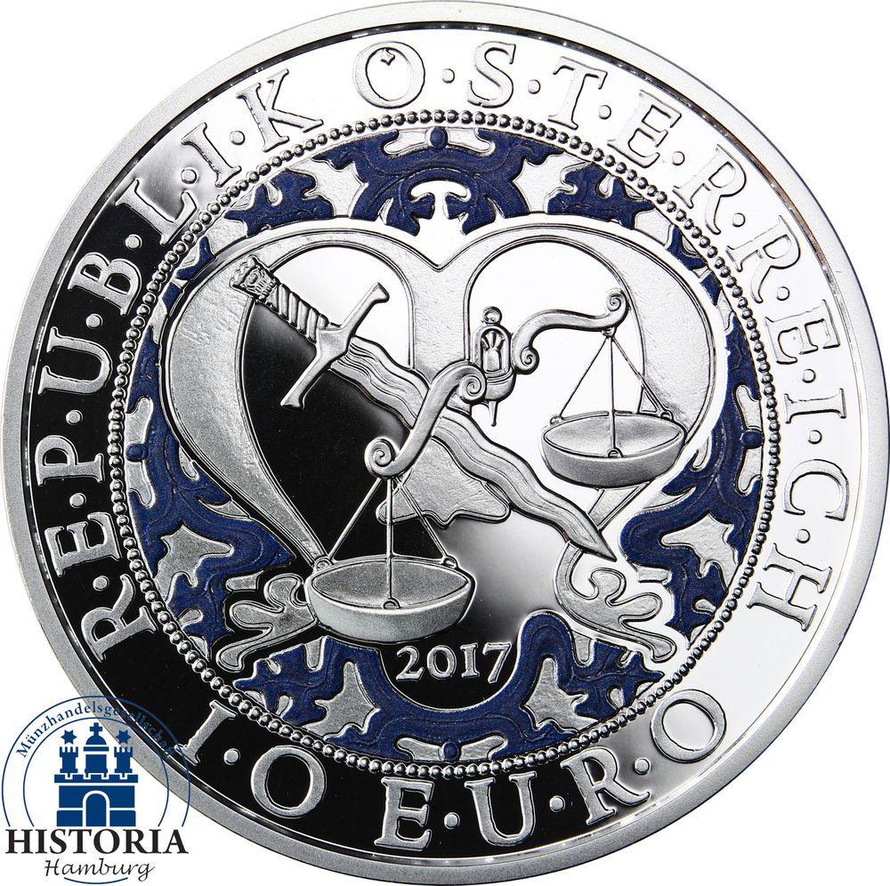 Osterreich 10 Euro Silber 2017 Pp Engel Himmlische Boten