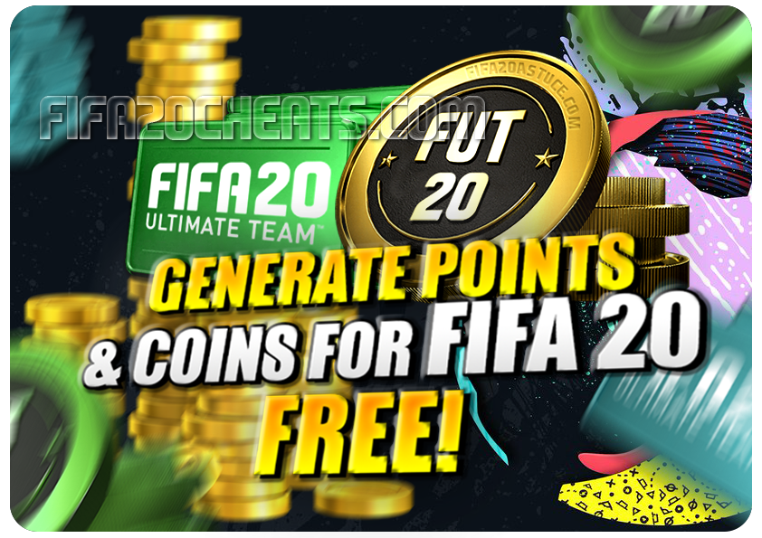 Fifa 20 Hack Cheat Points Coins Generator Fifa Card Fifa 20 Fifa