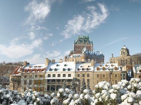 Quebec City Winter Wonderland Youtube Quebec City Quebec