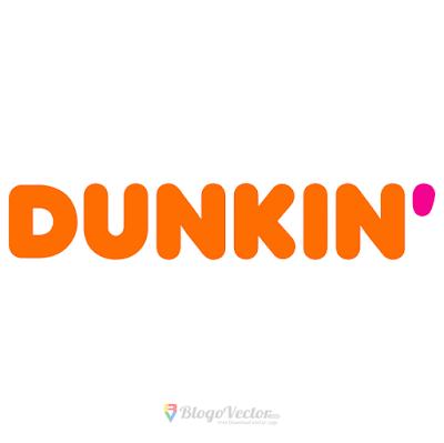 Dunkin Donuts Logo Vector In 2021 Donut Logo Vector Logo Logos