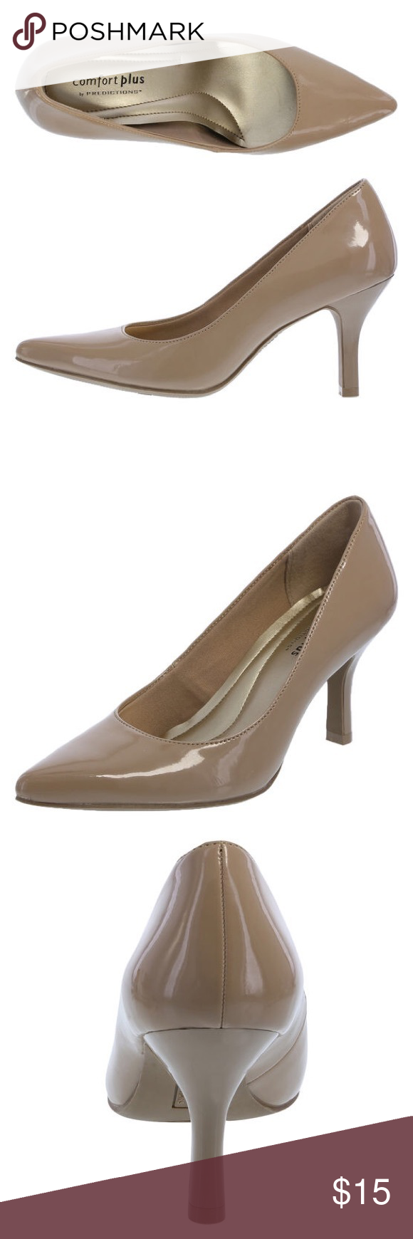 765b1c4be2f Comfort Plus Nude Pump Size 7 The women s Janine Pointy Toe Pump from Comfort  Plus by