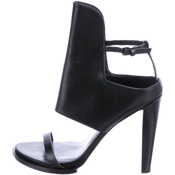 Pre-owned - Leather sandals Alexander Wang 8fig7rrQV