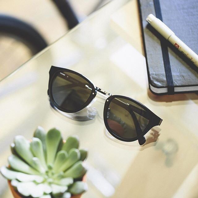 Ainsworth Black Fifty/Fifty Sunglasses By Shwood