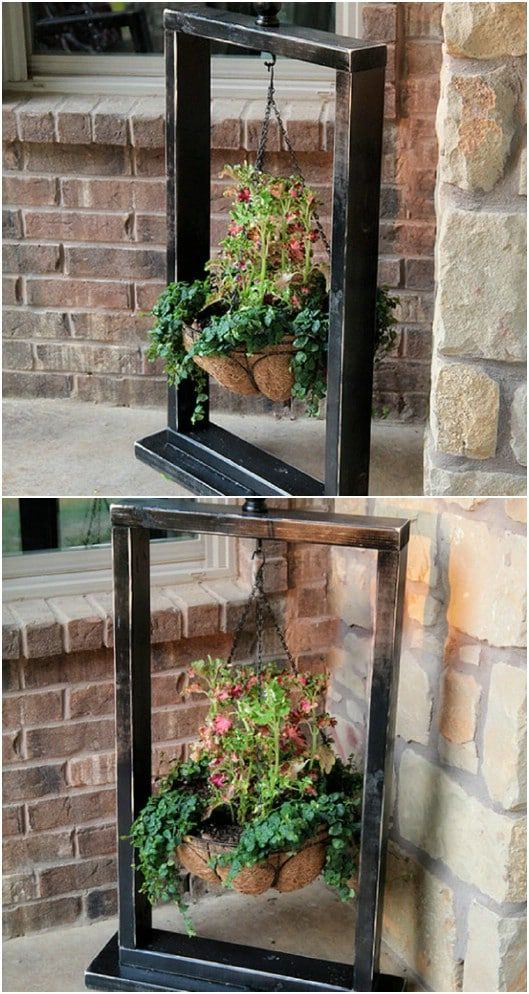 10 Easy DIY Outdoor Plant Stands To Show Off Those Patio Plants In Style #patioplants