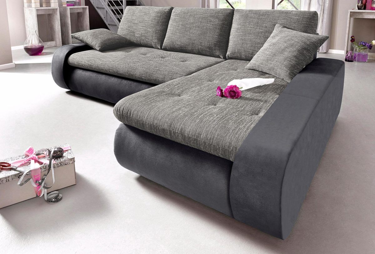 Erstaunlich Sofa Mit Recamiere Galerie Von Trendmanufaktur Ecksofa Weiß, Rechts, Xxl- Bettfunktion, Ive