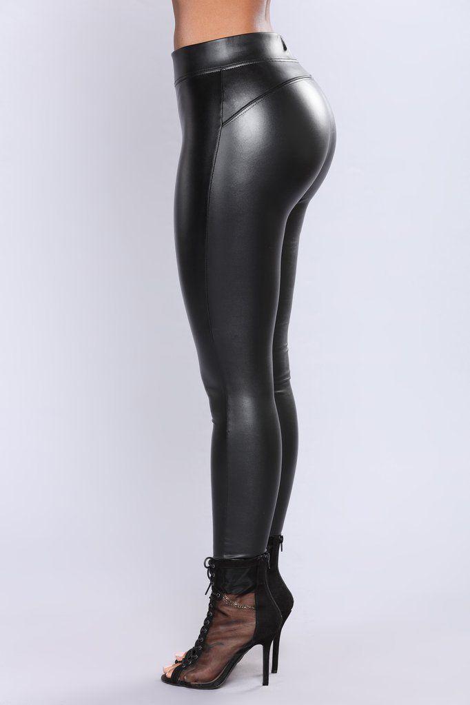 0b083c5822ea6 Liliana Faux Leather Leggings - Black | dresses | Leather leggings ...
