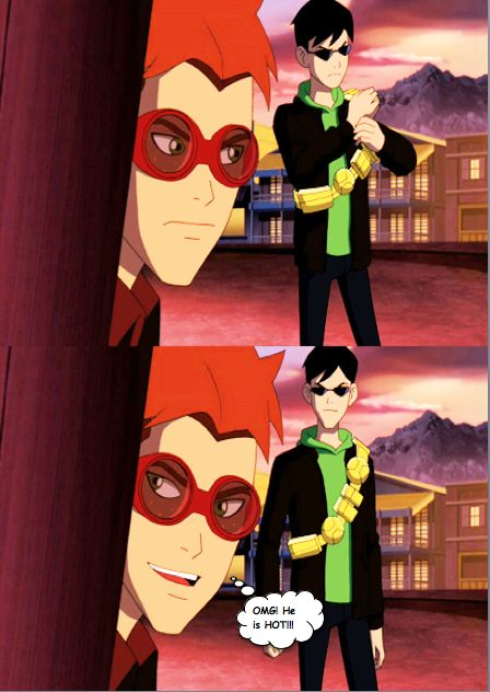 Soo hot Robin x kid flash | Batman and Stuff | Kid flash, Young