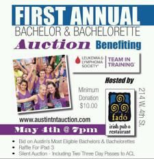 Bachelor auction fundraiser