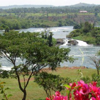 Nile River. Jinja, Uganda