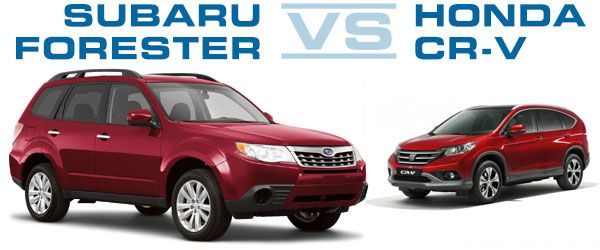 Subaru Forester Vs Honda Crv Comparison Review Subaru Forester Honda Crv Subaru