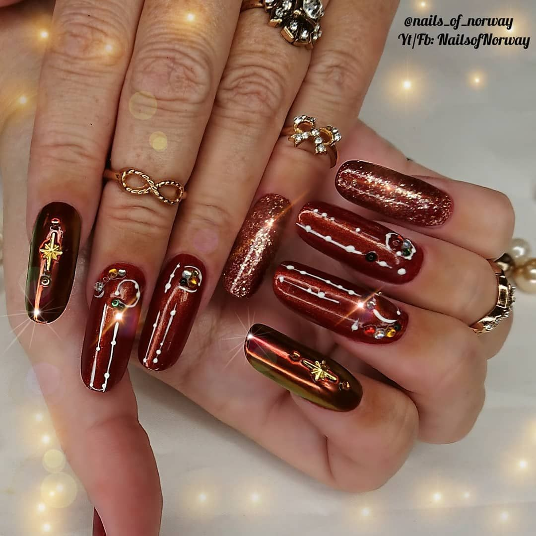 Here S A Set Of Straight Sculpted Acrylic Nails That I Have Done During My Online Classes With Nailsproacademy And Their Am Acrylic Nails Nails Online Classes