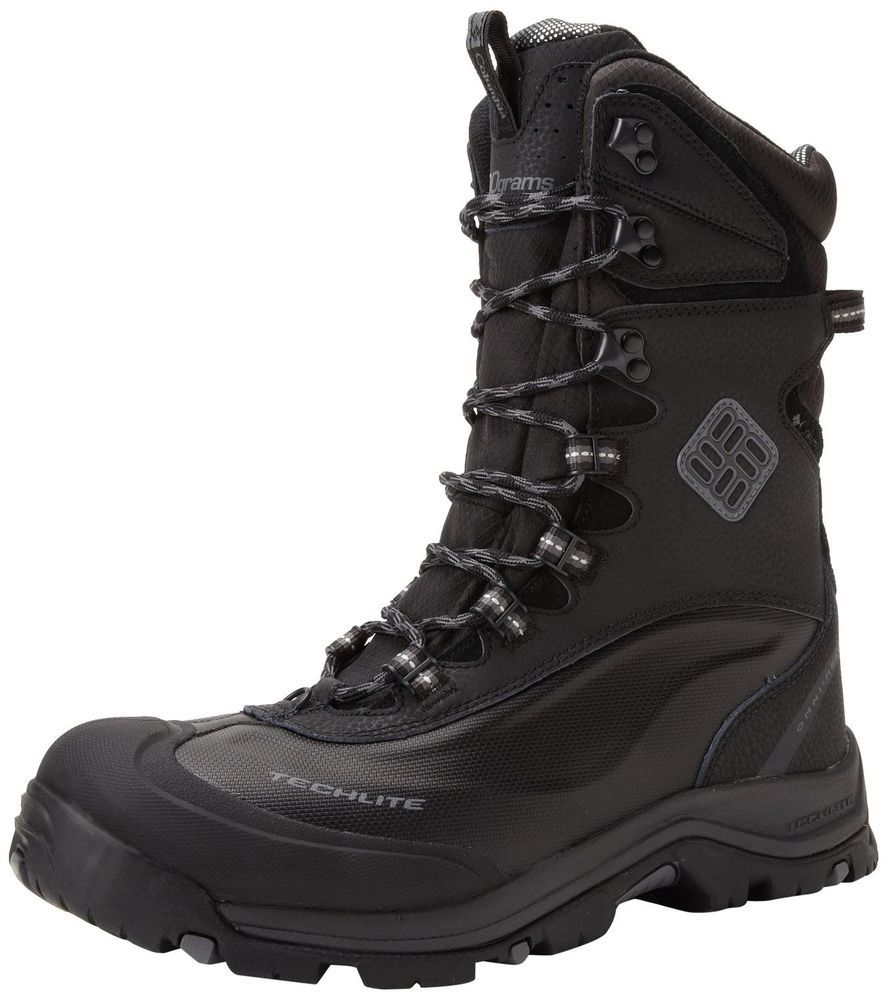 ($150) COLUMBIA MENS BUGABOOT PLUS II XTM WINTER/SNOW BOOTS OMNI HEAT WARM  NEW