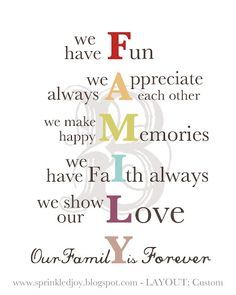 Family Quotes Colourful Google Search Quotes Pinterest