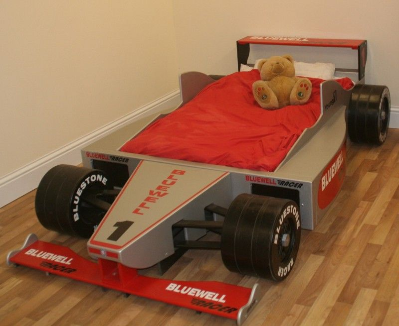 Best Bluewell Racer F1 Car Bed Cool Beds For Kids Kid Beds 400 x 300