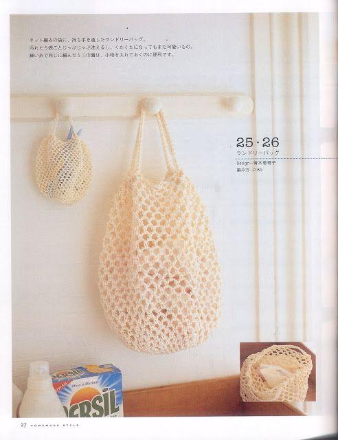 patrones asgaya: BOLSA COMPRA CROCHET | Book Japan | Pinterest ...