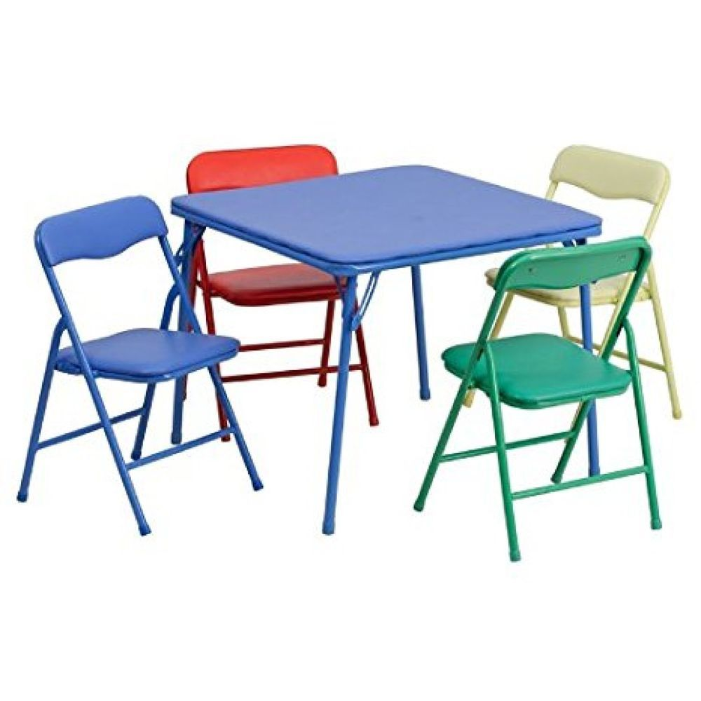 Kids Table And Chairs Set Activity Furniture