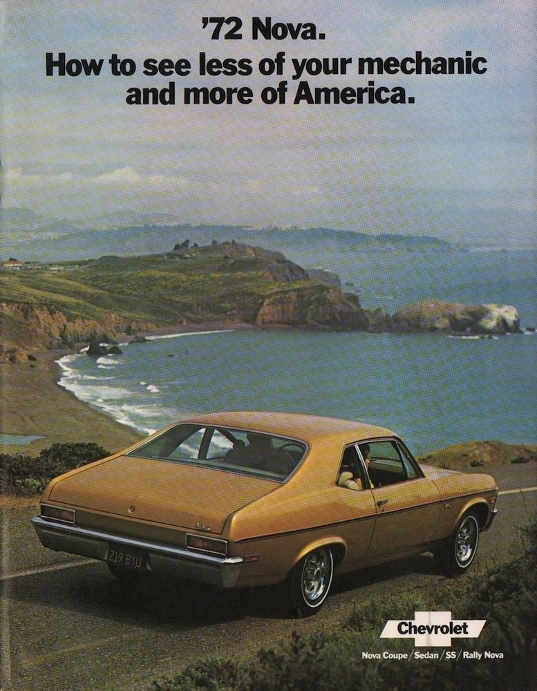 1972 Nova Specs Colors Facts History And Performance My