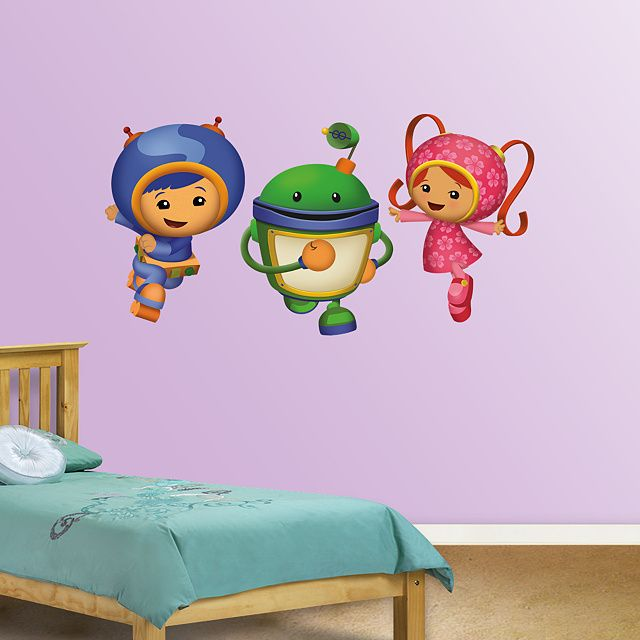 Team Umizoomi Disney Wall Decals Pony Wall Disney Wall