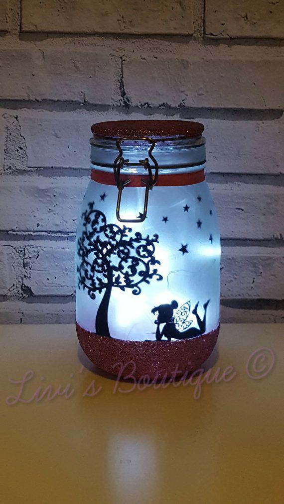 Fairy Night Light Fairy Lights Fairy Lantern Fairy Jar