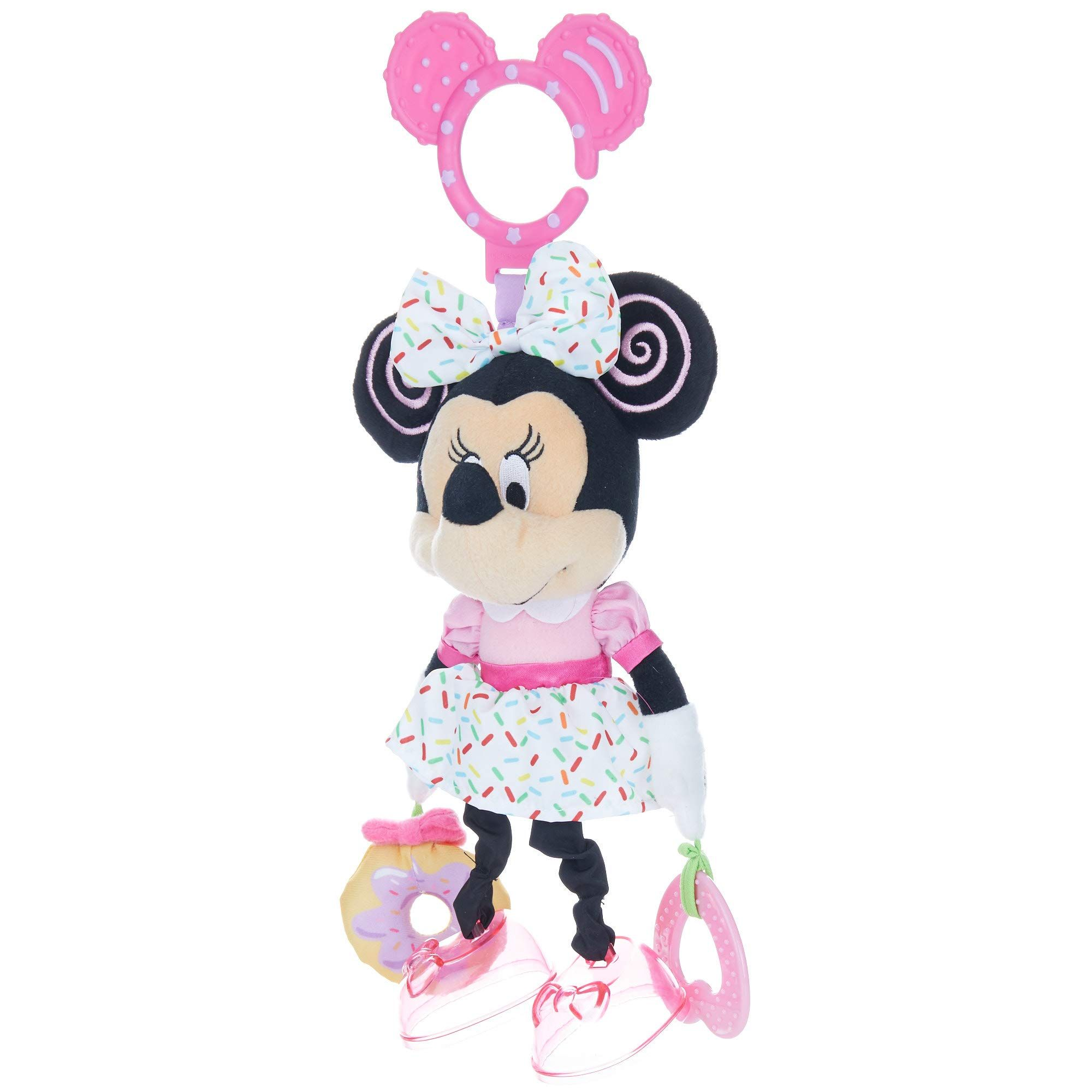 Disney Baby Minnie Mouse On The Go Pull Down Activity Toy ...