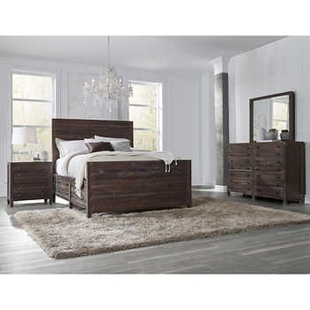 Torsten 5Piece Queen Storage Bedroom Set  Master Bedroom Entrancing Bedroom Sets Queen Design Inspiration