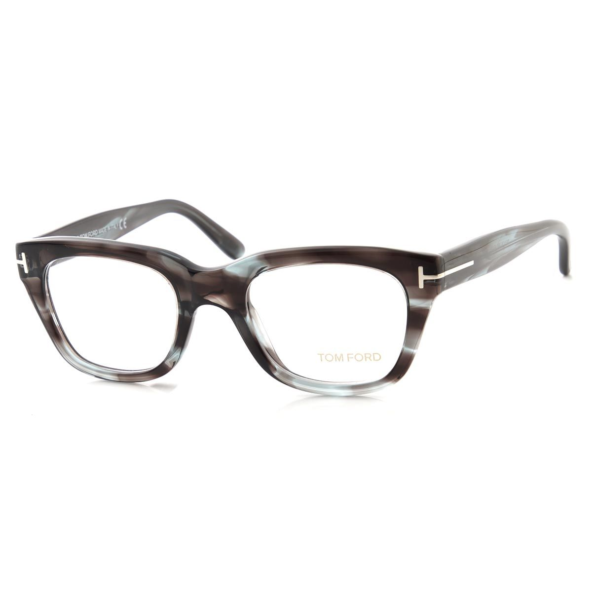 1ec9fc33db4 Rakuten Global Market  TOM FORD glasses   soft square and gray  tortoiseshell pattern grey series ft5178 089 mens