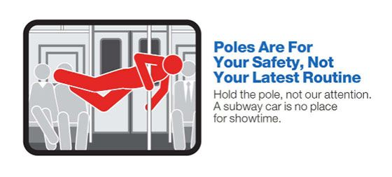 Mind the Gap (and Your Manners) New York's Winking MTA