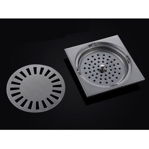 sus 304 stainless steel square shower floor drain