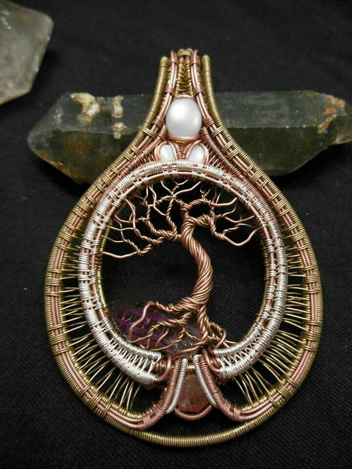 Pin von John Lebedz auf wire wrapping | Pinterest | Draht ...
