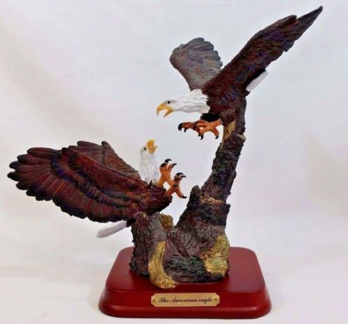 Herco Gift Professional Large American Eagle Solid Resin Figurine ...