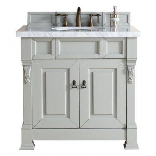Bosco Brookfield 36 Urban Gray Single Vanity Soft Close Doors Bathroom Vanity Single Sink Vanity Single Sink Bathroom Vanity