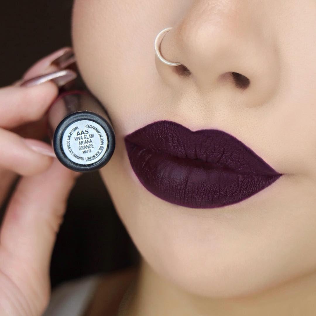 Mac lipstick sin with lipliner nightmoth | Make up Ideas ...